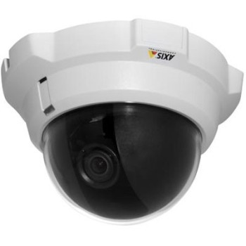 Axis 216FD indoor, fixed dome, varifocal lens IP camera with built-in motion detection, anti-tamper casing, PoE