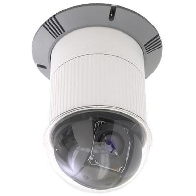 Axis 232D+ indoor/outdoor, pan/tilt/zoom IP surveillance camera with 18x optical zoom, day/night function