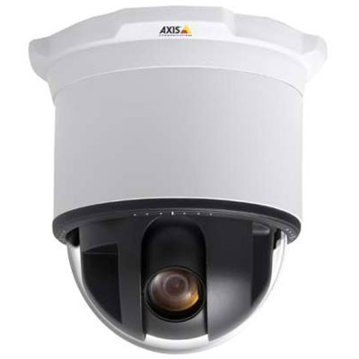 Axis 233D indoor, pan/tilt/zoom IP camera with 35x optical zoom, high-speed pan, day/night function, image stabiliser