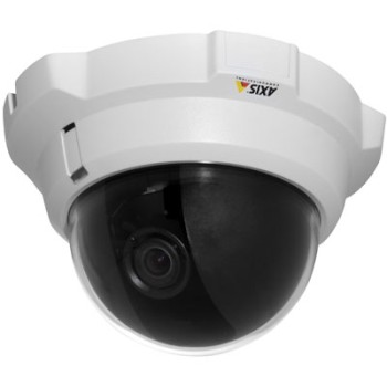 Axis P3301 indoor fixed dome IP security camera with two-way audio, H.264 and PoE