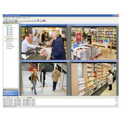 Axis Camera Station video recording software - 4 channel base pack (expandable up 100 channels)
