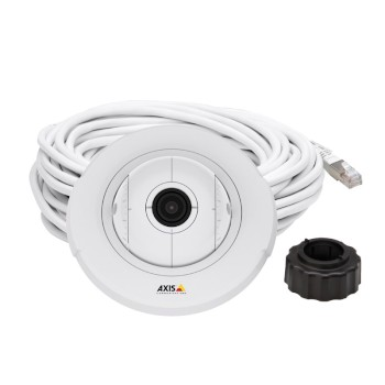 Axis F4005 indoor dome sensor unit with HD 1080p, 113° view and WDR, designed for use with an Axis F series main unit