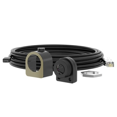 Axis FA1125 indoor pinhole sensor unit with HD 1080p, 91° view and Forensic WDR, designed for use with Axis' FA54 main unit