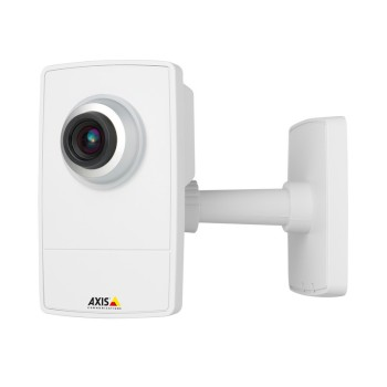 Axis M1004-W indoor wireless, fixed lens network camera with I/O ports, HD 720p resolution and H.264