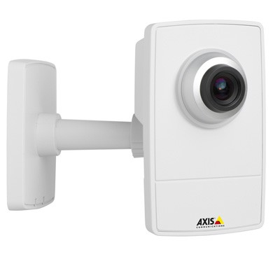 Axis M1013 indoor IP network camera with MicroSD card recording, H.264 compression and adjustable focus