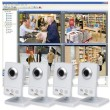 Image of Axis M1031-W Wireless Surveillance Kit - 4 Axis M1031-W cameras and Axis Camera Station recording software provided by www.networkwebcams.co.uk