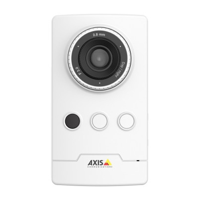 Axis M1045-LW indoor wireless IP camera with HD 1080p resolution, 10m IR illumination, Zipstream and Micro SD card storage