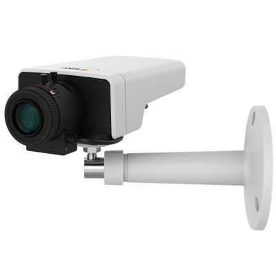 Axis M1124 indoor network camera with HD 720p, Zipstream, varifocal lens, MicroSD card recording and digital I/O