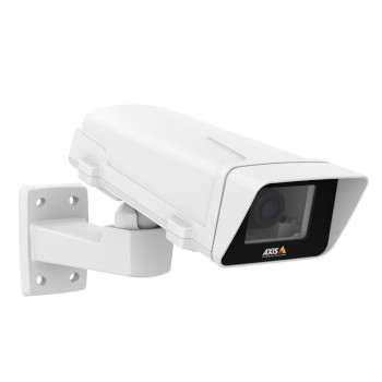 Axis M1124-E outdoor fixed varifocal network camera with full HD 720p, Zipstream, WDR, digital I/O and edge recording