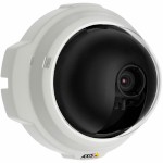 Axis M3203-V compact, fixed dome IP security camera with vandal-resistant casing and alarm, H.264, PoE