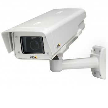 Axis P1354-E outdoor network camera with day/night, HD 720p resolution, Lightfinder technology and edge storage, PoE