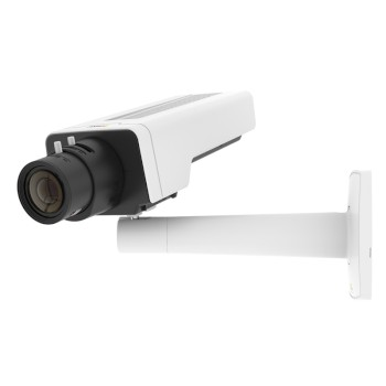 Axis P1367 indoor CS-mount IP camera with 5MP resolution, Lightfinder, Forensic WDR, two-way audio, edge storage and PoE