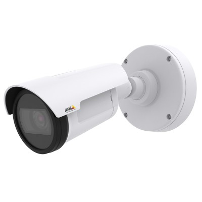 Axis P1428-E 4K ultra HD resolution outdoor bullet IP camera, with true day/night, digital autotracking, I/O, edge storage