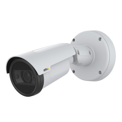 Axis P1447-LE outdoor bullet IP camera with 5MP resolution, Lightfinder, Forensic WDR, 30m Optimised IR and PoE