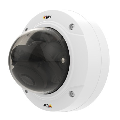 Axis P3224-LV Mk II indoor dome IP camera with HD 720p, 30m IR, Lightfinder, WDR Forensic Capture and Zipstream technology
