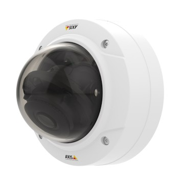Axis P3225-LVE Mk II outdoor IP camera with HD 1080p, WDR Forensic Capture, Lightfinder, up to 30m IR and edge storage