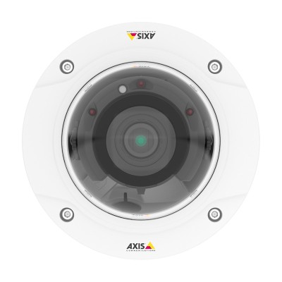 Axis P3227-LV indoor IP camera with 5MP resolution, Lightfinder, Forensic WDR, 30m IR, Zipstream, edge storage and PoE