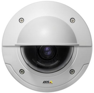Axis P3343-VE outdoor, fixed dome IP security camera with vandal-resistant casing, day/night function, H.264, PoE