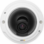 Axis P3346-V indoor, vandal-resistant fixed dome IP security camera with HD 1080p resolution, day/night functionality, PoE