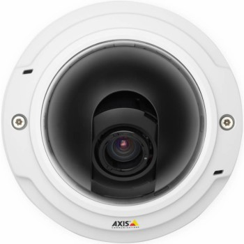 Axis P3346 indoor fixed dome IP camera with HD 1080p resolution, full day/night capability, remote focus and zoom, PoE