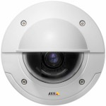 Axis P3346-VE outdoor IP66-rated, vandal-resistant fixed dome network camera, HD 1080p resolution, remote focus / zoom, PoE