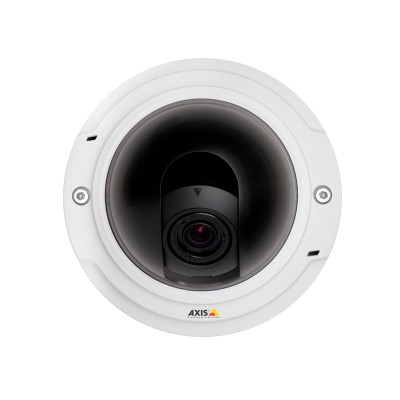 Axis P3354 indoor day/night dome IP camera with HD 720p resolution, Lightfinder technology and on-board recording