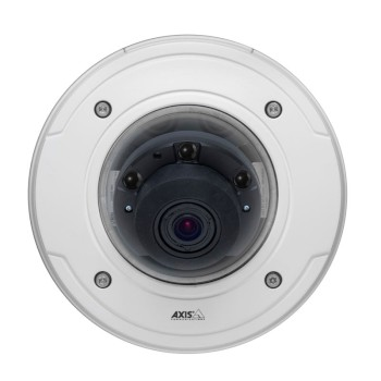 Axis P3364-LVE outdoor robust IP dome camera HD 720p, 25m infrared night-vision, Lightfinder, remote focus and zoom, P-iris