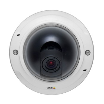 Axis P3364-V indoor vandal-resistant day/night dome IP camera with HD 720p resolution, Lightfinder and on-board recording