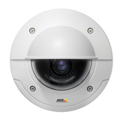 Axis P3364-VE outdoor-ready day/night dome IP camera with HD 720p resolution, Lightfinder technology and on-board recording