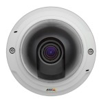 Axis P3367-V indoor, 5 megapixel fixed-dome IP security camera with vandal-resistant casing, day/night function, H.264, PoE