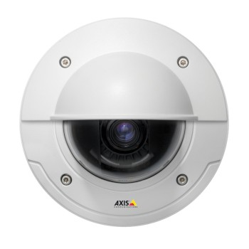 Axis P3367-VE outdoor, 5 megapixel fixed-dome IP security camera with vandal-resistant casing, day/night function, H.264