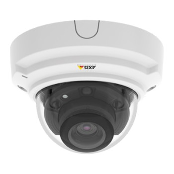 Axis P3374-LV indoor vandal-resistant dome IP camera with HD 720p, up to 30m IR, Lightfinder and WDR - Forensic Capture