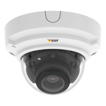 Axis P3375-LV indoor vandal-resistant dome IP camera with HD 1080p, WDR – Forensic Capture, Lightfinder, 30m IR and PoE