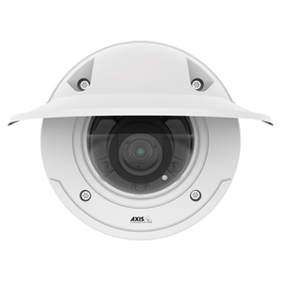 Axis P3375-LVE outdoor vandal-resistant dome IP camera with HD 1080p, Lightfinder, WDR – Forensic Capture, 30m IR and PoE