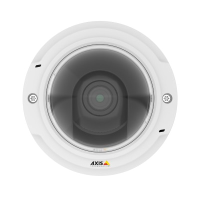 Axis P3375-V indoor vandal-resistant dome IP camera with HD 1080p, WDR – Forensic Capture, Lightfinder and edge storage