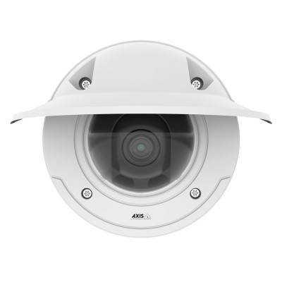 Axis P3375-VE outdoor weather-resistant dome IP camera with HD 1080p, Lightfinder, WDR – Forensic Capture and edge storage