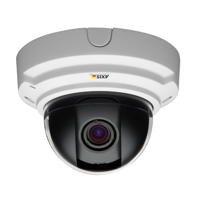 Axis P3384-V indoor vandal-resistant dome IP camera with Wide Dynamic Range, Lighfinder technology and HD 720p resolution