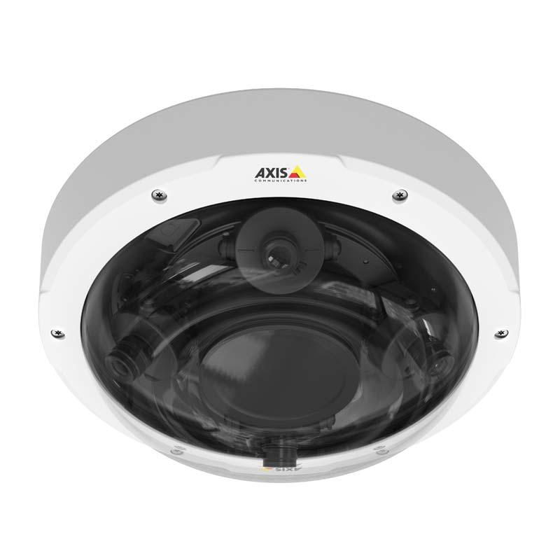 Image Axis P3707 Pe Outdoor 360 176 Multi Sensor Ip Camera