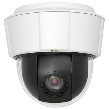 Axis P5534 indoor, HD 720p, pan/tilt/zoom IP camera with 18x optical zoom, continuous 360 degree rotation, H.264, HPoE