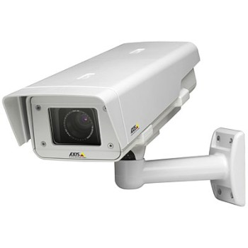 Axis P1343-E outdoor, varifocal lens IP security camera with day/night function, impact-resistant casing, H.264, HPoE