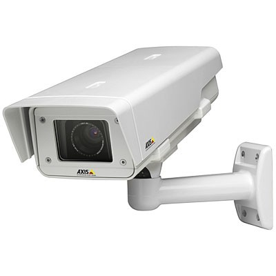 Axis P1344-E outdoor, HD 720p, varifocal lens IP camera with day/night function, impact-resistant casing, H.264, HPoE