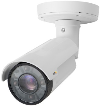 Axis Q1765-LE outdoor bullet IP camera with HD 1080p, 18x optical zoom, IR illuminators up to 40m, PoE and edge storage