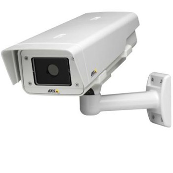 Axis Q1922-E outdoor thermal IP camera with VGA resolution thermal imaging, 2-way audio, SD card recording and PoE