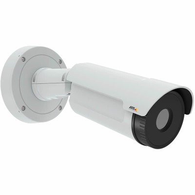 Axis Q1932-E outdoor thermal bullet IP camera with VGA resolution thermal imaging, two-way audio, edge storage and PoE