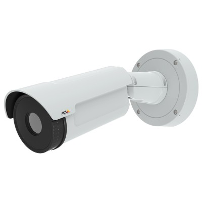 Axis Q2901-E outdoor thermal bullet IP camera with temperature change alarm and 336x256 resolution thermal imaging