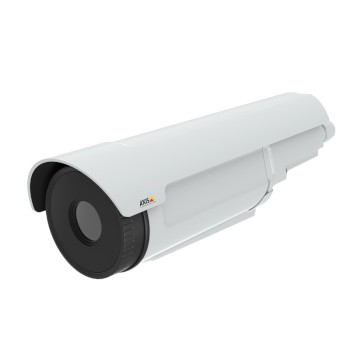 Axis Q2901-E PT outdoor thermal bullet IP camera with temperature change alarm, 336x256 resolution and pan-tilt mount