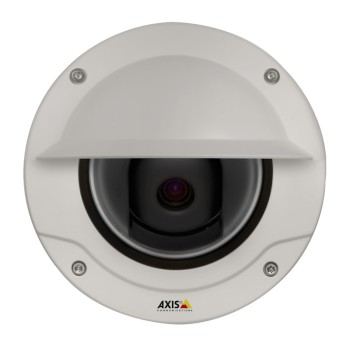 Axis Q3504-VE outdoor vandal-resistant dome IP camera with HD 720p, WDR - Forensic Capture, Lightfinder and edge storage
