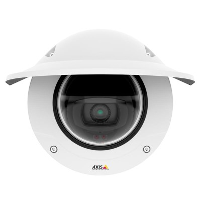 Axis Q3515-LVE outdoor vandal-resistant dome IP camera with HD 1080p, up to 60m IR, Lightfinder, Forensic WDR and PoE