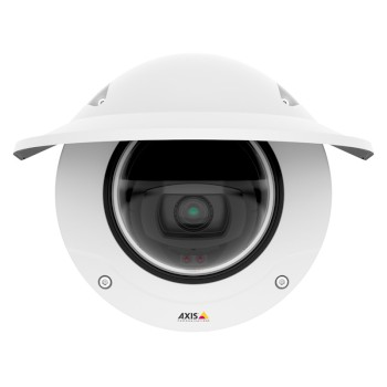 Axis Q3517-LVE outdoor vandal-resistant dome IP camera with 5 megapixel resolution, 40m IR, Forensic WDR and Lightfinder