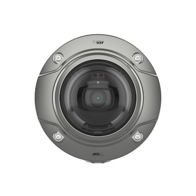 Axis Q3517-SLVE outdoor stainless steel IP camera with 5MP resolution, up to 40m IR, Lightfinder, Forensic WDR and PoE
